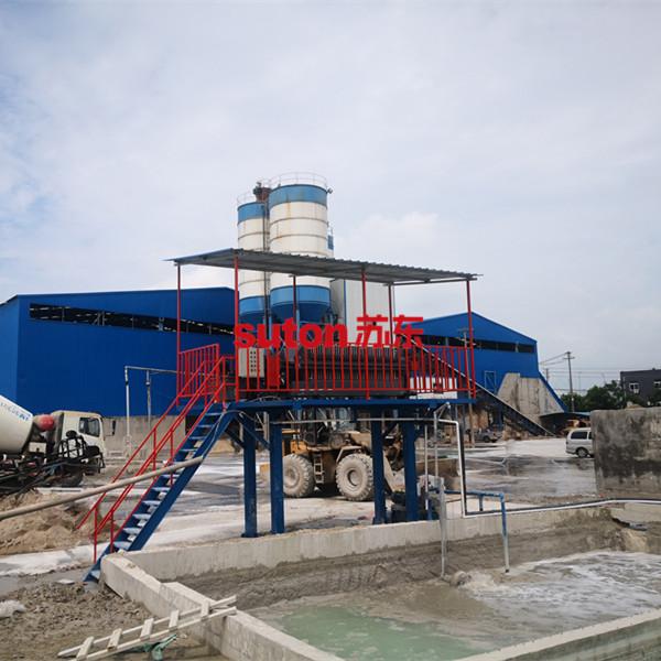 混凝土攪拌站洗砂廢水壓濾機