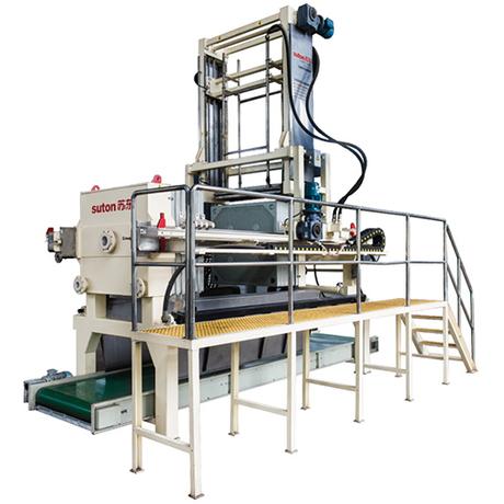 智能沖洗輸送型節能高效隔膜壓濾機