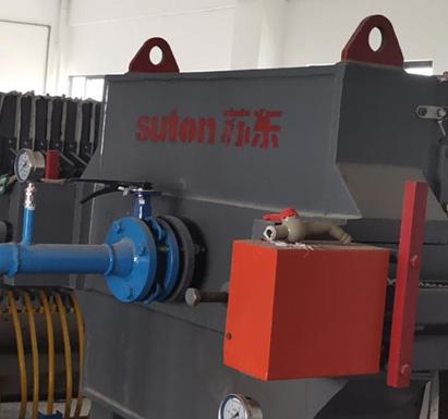 廣西客戶6臺污水處理壓濾機順利交付并完成安裝工作